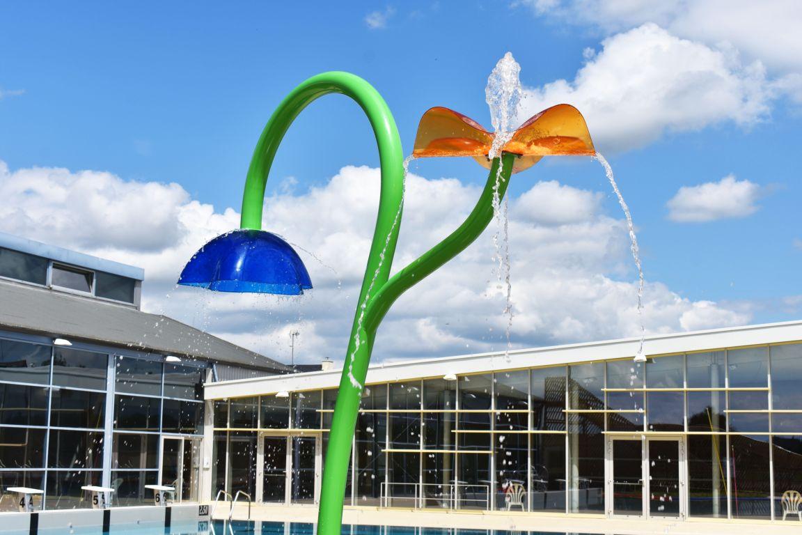 Jeux aquatiques - fleur