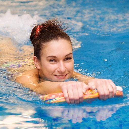 Cours de natation adolescents