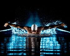 Nocturne au Centre aquatique l'Odyssée